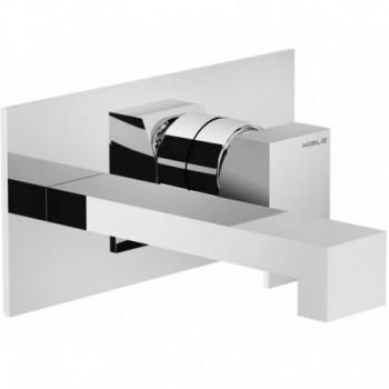 MIA P.esterno miscelatore lavabo incasso L.200mm cr NOBMI102198/1CR