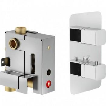 Corpo incasso Miscelatore rubinetto termostatico doccia 2VIE WE00102 - Gruppi per docce