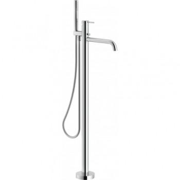 P.esterno Miscelatore rubinetto esterno vasca a pavimento VERS. TONDA cr WE00180/TCR
