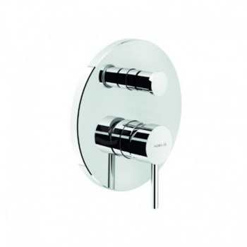 Miscelatore rubinetto monocomando doccia incasso con deviazione LV00100/ECR