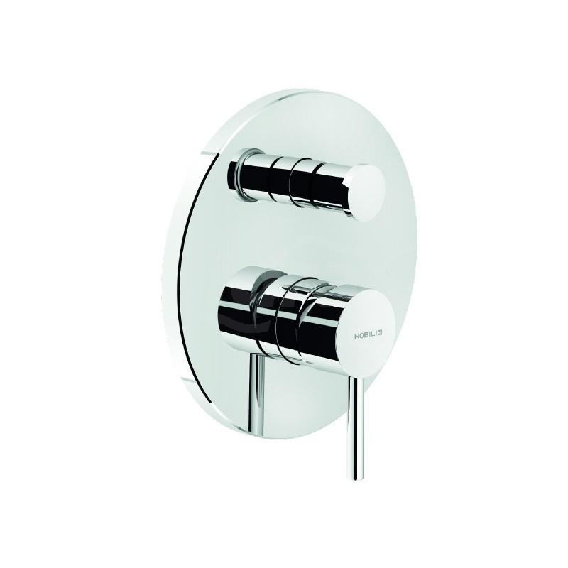 Miscelatore monocomando doccia incasso con deviazione NOBLV00100/ECR