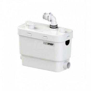 NEW SANISPEED SILENCE scarico acque chiare lavatrice e lavastoviglie utilizzo intensivo SFRSDS