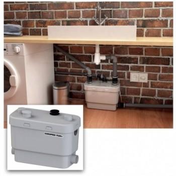 SANISPEED SILENCE PLUS +  scarico acque chiare lavatrice e lavastoviglie utilizzo intensivo SFRSDS+
