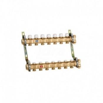 """663 Collettore premontato ø1.1/4"""" 5DER. ø3/4"""" M CAL6637E5"""