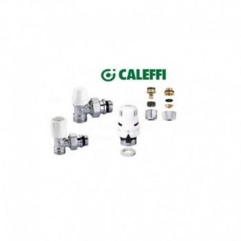 """Kit 3/8"""" diritto riqualificazione tubo in ferro con valvola termostatica e comando 199000 CALKIT1221302"""