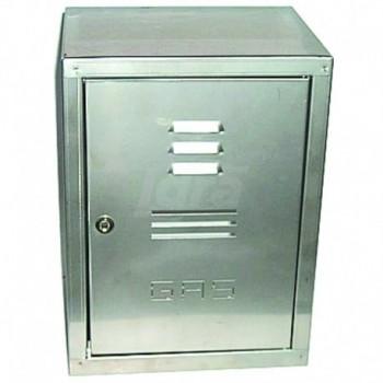 Cassetta gas zincata a porta unica H50 x L30 x P24 00000050439