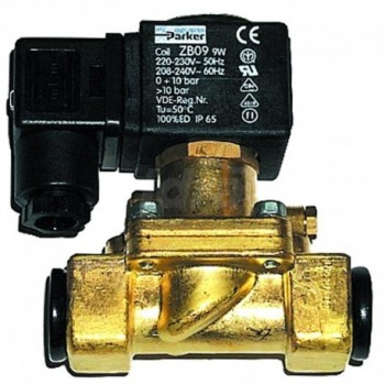 "Elettrovalvola per acqua Mod. PM 123 PARKER NC, (Bobina) Mod. JB14 - 24 Vdc - Ø 3/4 - 1"" 00000513461"