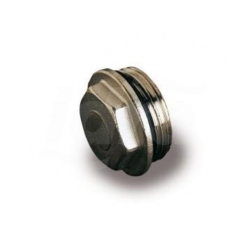 """Tc 460 Tappo Di Testa Cieco Da 1"""" con O-Ring  nichelato LUX68559934N"""
