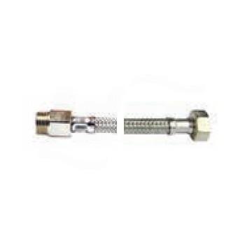 DN10 FLEX INOX EXP. MP 1/2 - FGI 1/2 mm0200 FGADDS0200LAL - Per sanitari - treccia inox