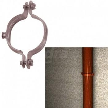 Collare ?14 mm per tubo in rame con viti laterali premontate 00501202 - Collari/Staffe/Mensole