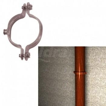 Collare ?15/16 mm per tubo in rame con viti laterali premontate FIS00501203
