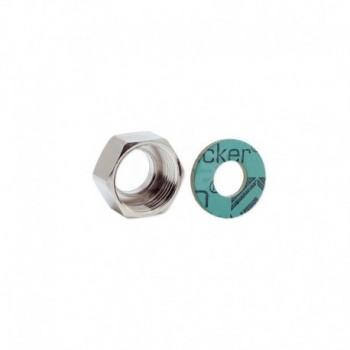 Dadi ridotti in ottone nichelato a sede speciale con filettatura femmina ISO 228 G EURA02-0010-00732
