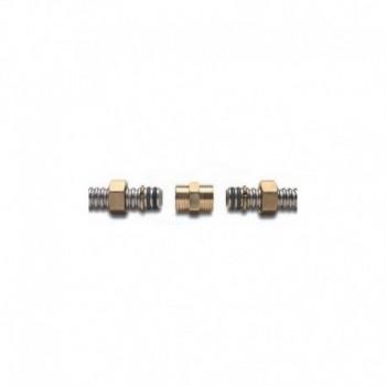 Raccordi in ottone ad innesto rapido con doppio O-ring A03-0001-01865 - Mecc. ad innesto rapido