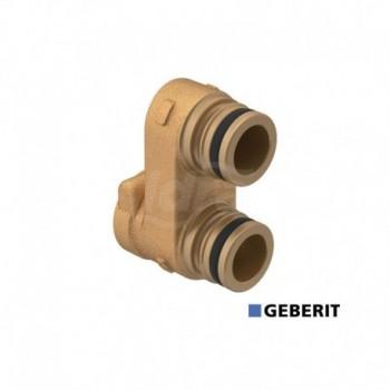 Raccordo doppio per collettore Compact. Misura: DN15 GEB612.446.00.1