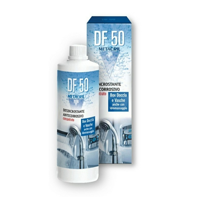 DF 50-disincrostante anticorrosione 500 ml per pulizia box doccia 09000512