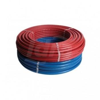 ISO4 tubo multistrato rivestimento rosso ø16x2mm rotolo 100m 100-ISO4-16-RO - Multistrato