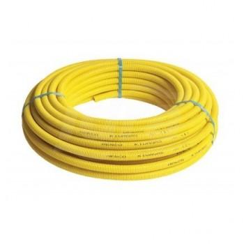 Tubo multistrato per gas con guaina 16x2 rotolo 50m HCO50-016GASMG