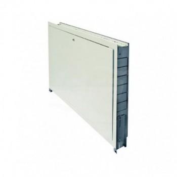 090630 CASS. INC. L.850  in metallo zincato con sportello bianco zincato HCO0850-630-090