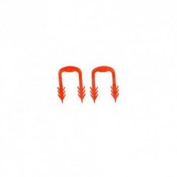 Clip per pannelli a nocche 5cm 100 pezzi UFH-UP-CUP10 - Clips di fissaggio