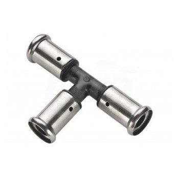 9PK raccordo Tee intermedio ø32x32x32mm PVDF press. HCO9PK-323232