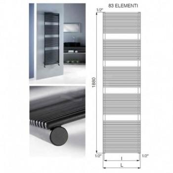 DAFNE radiatore per bagno acc. 1332W 600x1880 mm R01 CRV3551676101011