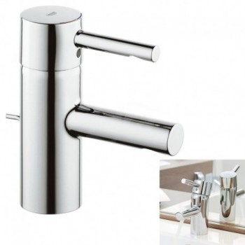 ESSENCE Miscelatore monocomando per lavabo con cartuccia a dischi ceramici da 35mm GRO33532000