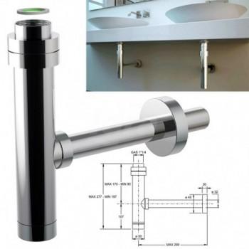 Sifone MINIM-ALL linea minimale per lavabo 0590OT25K7