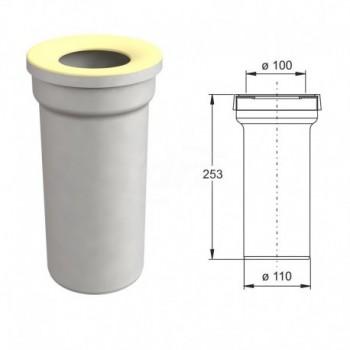 Manicotto diritto per vasi WC BON8431PP11C0