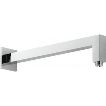 Braccio doccia PAR. L.335 con rosone 60x60 cr NOBAD138/24CR