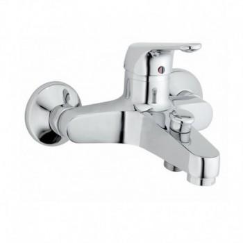 SERIE BLU finitura cromata Miscelatore rubinetto vasca con doccetta BL29110
