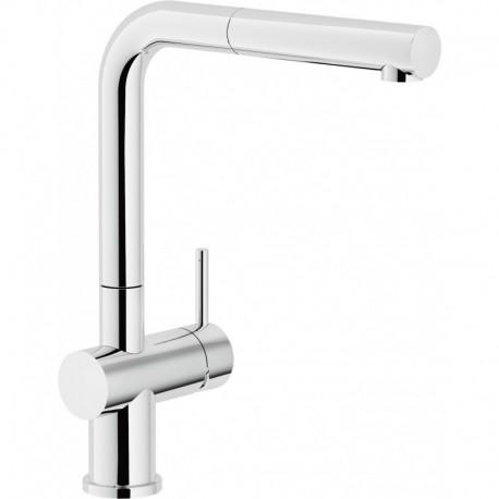 LIVE Miscelatore rubinetto monocomando lavello + Doccetta estraibile cr LV00117CR