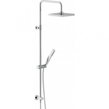 RENOVA Colonna doccia + presa acqua + soffione 200x200 cr NOBWE00141/50CR