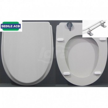 Sedile wc Termoformato Ideal St. Ala Bianco Europa ERCBSFORAIS01
