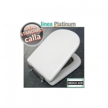 Platinum Sedile wc Ids Calla Bianco Europa BSFORAIS05
