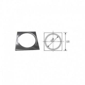 Quadrotto in acciaio inox per tappi e pilette ø 100 COEF02SF1191