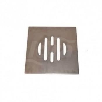 Griglia in acciaioinox 100x100mm COEF03SPR10I