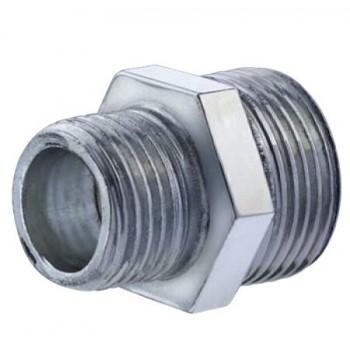 "245-z nipple riduzione acciaio zincato ø1""x1/2""mmq 0245Z01000120 - Tappi/Riduzioni per radiatori"