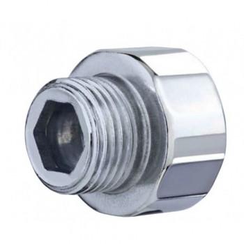 """246-i manicotto ridotto acciaio zincato ø1""""x3/4""""mf L.15mm OTE0246Z0103415I"""
