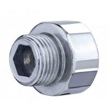 """246-z manicotto ridotto acciaio zincato ø3/8""""x3/4""""mf L.15mm OTE0246Z03834150"""
