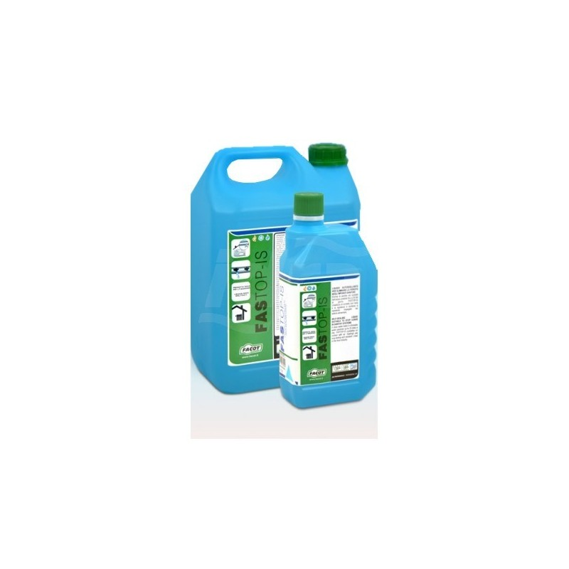 FASTOP-IS Liquido autosigillante per eliminare le perdite negli impianti sanitari. Flacone 1lt FACFASTOPIS1000