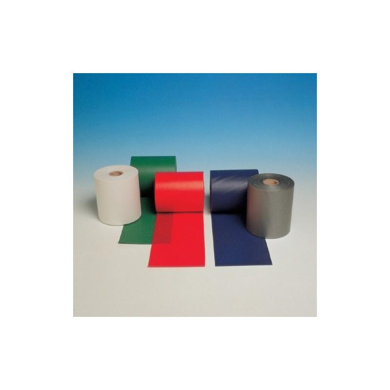 Benda in PVC bianco rotolo H.100mmx50m FACPVCBI50N