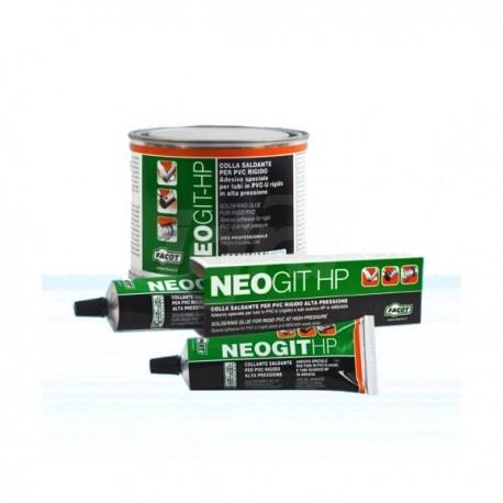 NEOGIT Colla speciale saldante per incollare tubi PVC. Barattolo 250gr FACNEO0250
