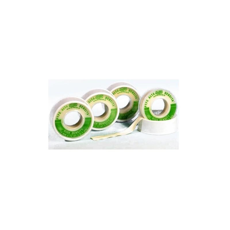 TEFLON Nastro in PTFE puro ad alta densità ed alto spessore per vapore 12mmx12m FACTEFHD1212F