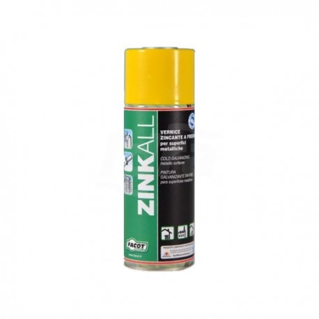 ZINKALL Vernice zincante 400ml FACZINK400E