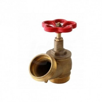 Rubinetto idrante PN16 in ottone con guarnizioni in gomma A1220 - Raccorderia antincendio