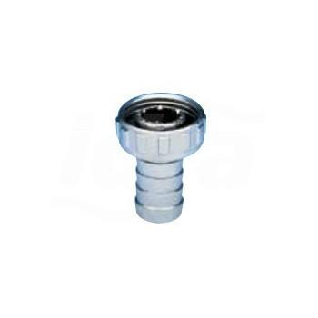 """Art. S.0083 EKO-LUX - Portagomma e girello per rubinetto a sfera curvo, cromato, 1/2"""" S0083C04 - Accessori"""