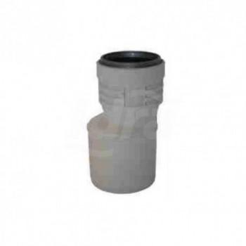 Aumento HTR PPC fonoassorbente PhoNoFire ø78x90 157809W - In PP a innesto insonorizzati