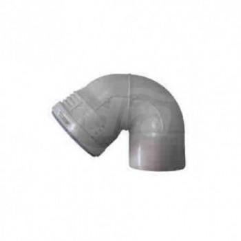 Curva di ventilazione PPC fonoassorbente PhoNoFire ø110 COE591100W