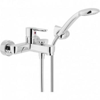 ABC Miscelatore rubinetto monocomando esterno V/D C/DUPLEX cr AB87110CR