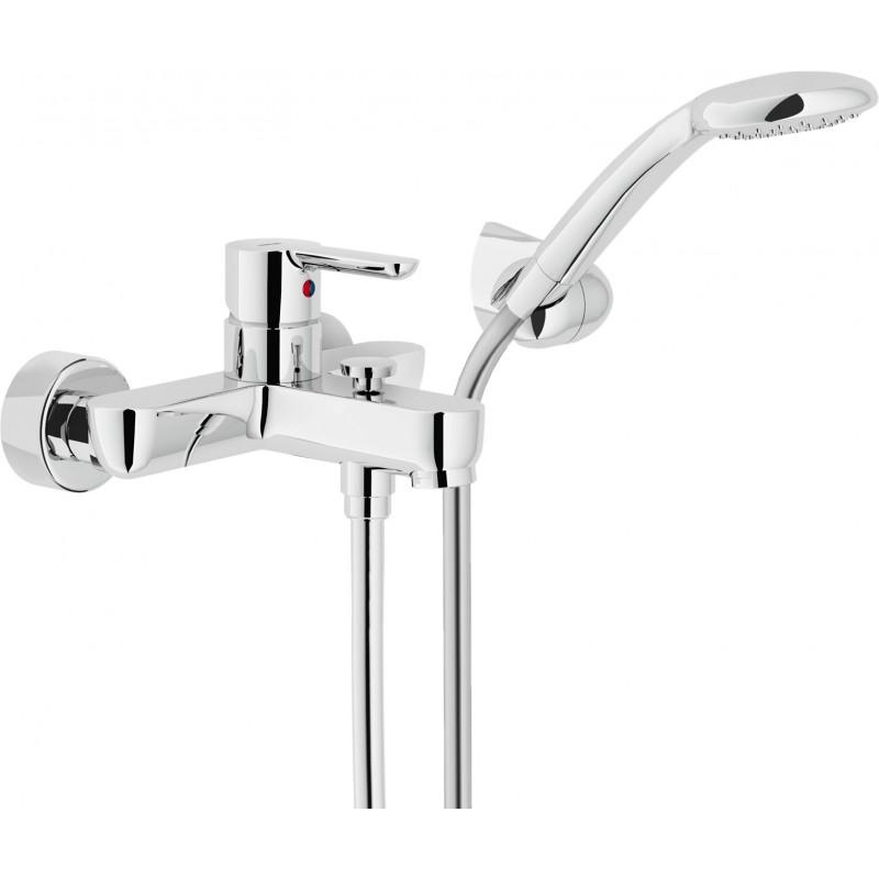 ABC Miscelatore rubinetto monocomando esterno V/D C/DUPLEX cr AB87110CR - Gruppi per vasche